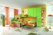 Stile Arredamenti Demo - Bedrooms for Children and Youth - 04 05 e 2 - Pesaro